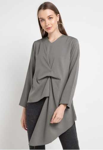 Covering Story grey Zhuo Top - C 08BEAAA2973E30GS_1
