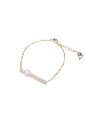 Pearly Lustre gold Pearly Lustre Elegant Freshwater Pearl Bracelet WB00025 AAE4AAC0CFB00EGS_1