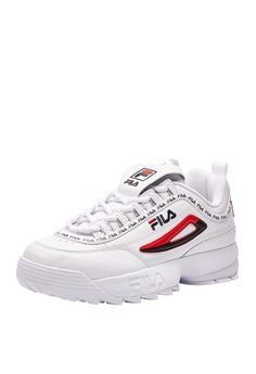 3c789b1a8ece Fila DISRUPTOR II Leather Chunky Sneakers S$ 268.00. Sizes 35.5 36.5 37.5  38 39