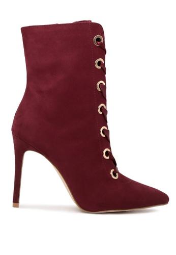London Rag 紅色 紅色系鞋带靴 SH1711 C1677SH16935C4GS_1
