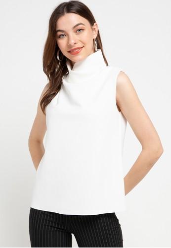 Seven Level white Nancy Blouse 913C0AAB698E8CGS_1