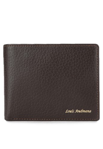 Louis Andreano brown Miller Trifold Wallet 043 LO182AC0VYCTID_1