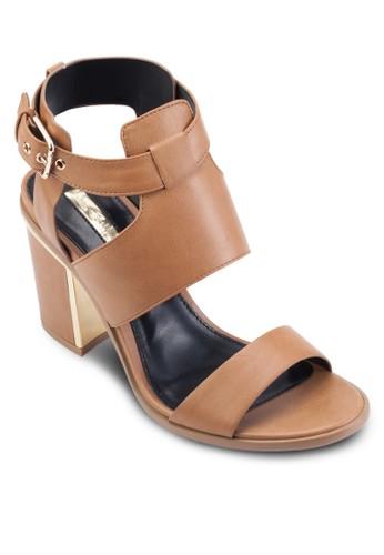 Sesprit taiwanydney 粗跟涼鞋, 女鞋, 鞋