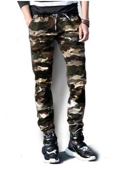 BB Hosen Men's Cargo Jogger Pants (Squad)