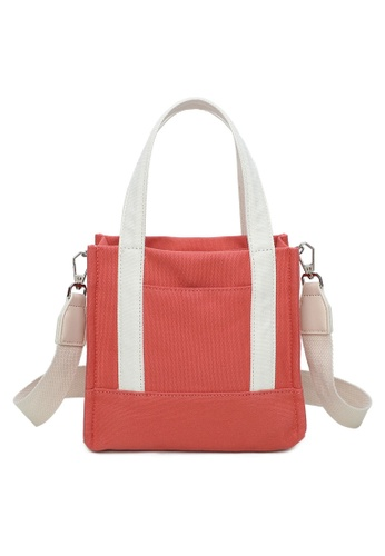 Milliot & Co. pink Naomi Top-Handle Bag C056DAC8B1A680GS_1