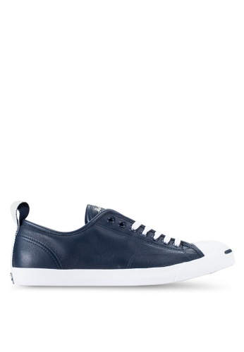 Converse navy Jack Purcell Jack Ox Sneakers CO302SH19WIEMY_1