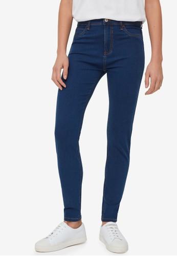 OVS blue Super Skinny-Fit Stretch Jeans 8582BAA8C0310DGS_1