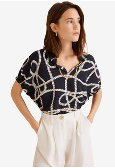 20cce5fca18306 Shop MANGO Blouses for Women Online on ZALORA Philippines