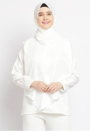 Le Najwa white Lionela Tunik 803B6AAB5DF49CGS_1