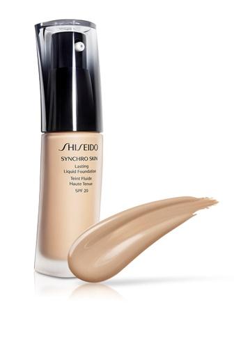 Shiseido beige Shiseido Makeup Synchro Skin Lasting Liquid Foundation, N3 30ml SH514BE0GMF9SG_1