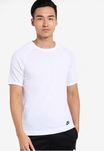 Nike white Men's Nike Sportswear Bonded Top NI126AA92YVRMY_1