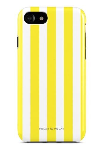 Polar Polar yellow Yellow Stripe Dual-Layer Tough Case Glossy For iPhone SE (2nd) / 8/7 03735AC476D8AFGS_1