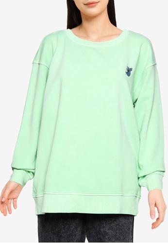 ONLY green Ani Sweatshirt ED4D6AAFE87C20GS_1