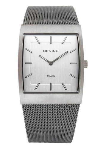 Bering silver Titanium 11233-200 Silver 33 mm Men's Watch 6D37CAC709AAC4GS_1