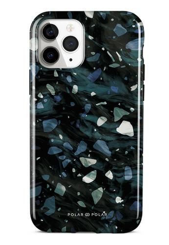 Polar Polar grey Nordic Terrazzo Gem Dual-Layer Tough Case Glossy For iPhone 11 Pro DDBB6AC984DFD3GS_1