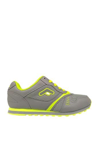 FANS grey Fans Castelo C - Jogging Shoes Grey Light Green D8805SHED6DD70GS_1