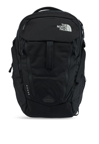 The North Face black Surge Backpack FCFB7AC174B5A6GS_1