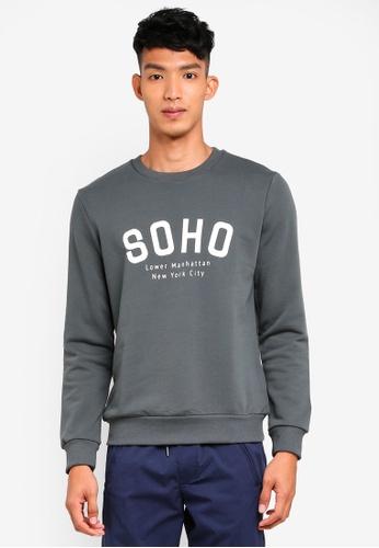 8db9c4ce44e Buy Selected Homme Simon City Sweatshirt Online on ZALORA Singapore