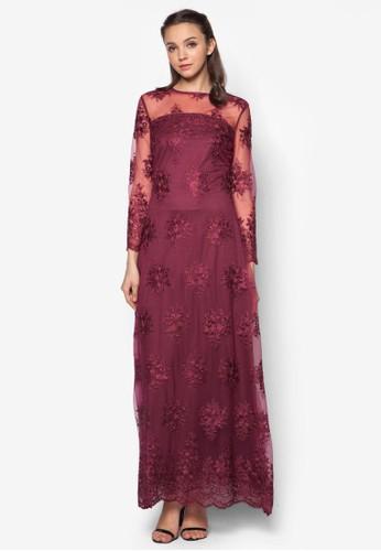 Lace A-Line Desprit鞋子ress, 服飾, 服飾