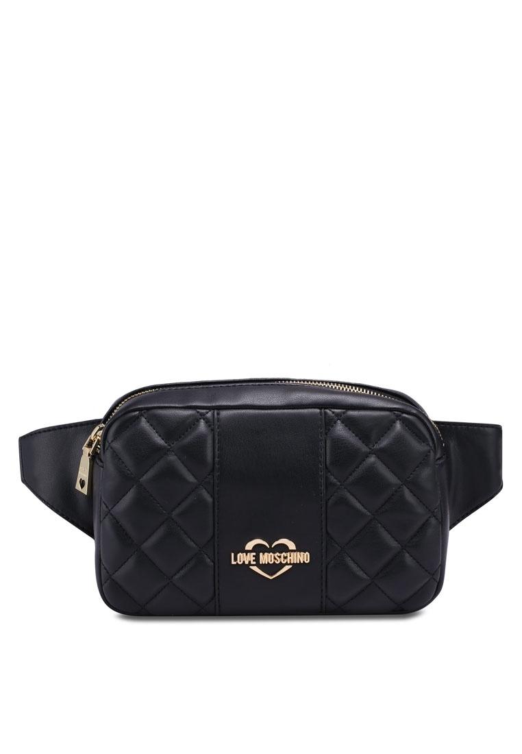 1ccbe6b614 Borsa Friday Sling Quilted Moschino Love Bag Black Black r8rF6q at ...