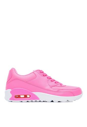 Life8 pink United Colors of Air Cushion Sport Shoes-09669-Peach LI283SH0FP2ZSG_1