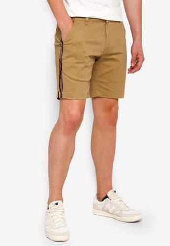 SPARROW GREEN brown Cambridge Shorts B40C9AA4BA9222GS_1