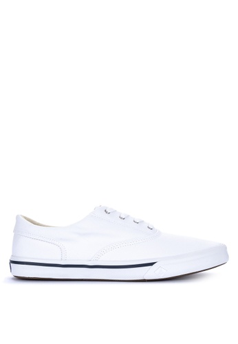 Sperry white Striper II CVO Saturated Sneakers 4EB1ASHEA36274GS_1