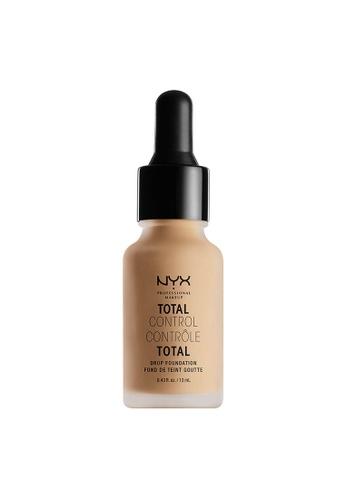 NYX Professional Makeup beige NYX Professional Makeup Total Control Drop Foundation - MEDIUM OLIVE 51836BED9B18F0GS_1