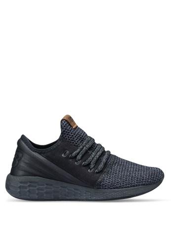 New Balance black and grey Cruz Future Sport Decon Shoes 85C0DSHB00B468GS_1