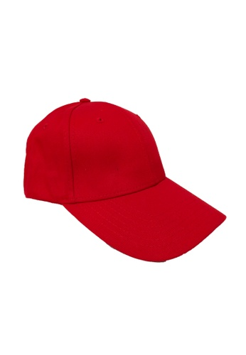 DRUM red Canvas 6 Panel Cap- RED 04FC1ACD75ADFCGS_1