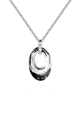 ADORA black Ring Pendent Necklace C5DFFACBEA5DB4GS_1