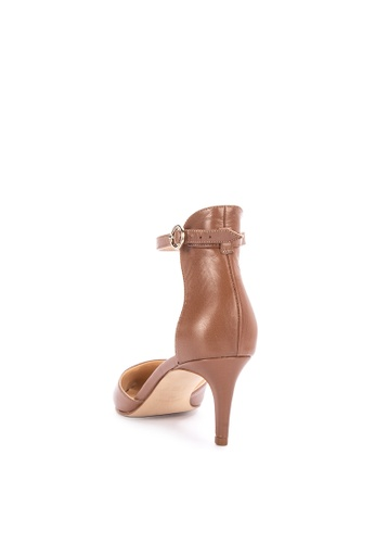 eef753f293e Shop Nine West Sharmila Closed Toe Heels With Ankle Strap Online on ZALORA  Philippines