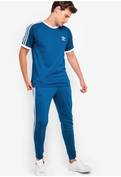 Responsible Adidas Originals 3 Stripe Mens Activewear Full Tracksuit Size Small S Rrp $150 Activewear Tops
