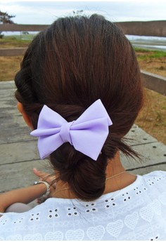 Lavender Bow (Small)