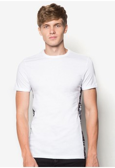 Textured Side Panel T-Shirt