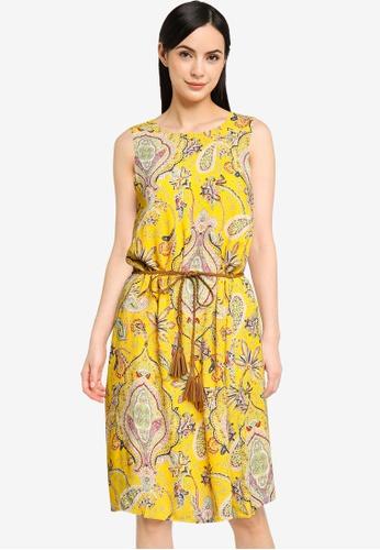 Desigual yellow Vest Adriana Dress 7BE12AA9DDB43EGS_1