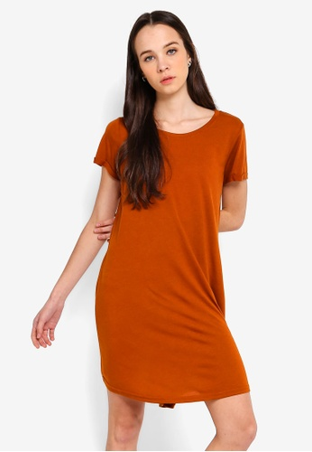 Cotton On brown Tina T shirt Dress 2 77320AAB1A636CGS_1