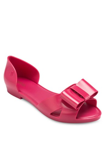 Seduction 蝴esprit bag蝶結側空平底鞋, 女鞋, 鞋