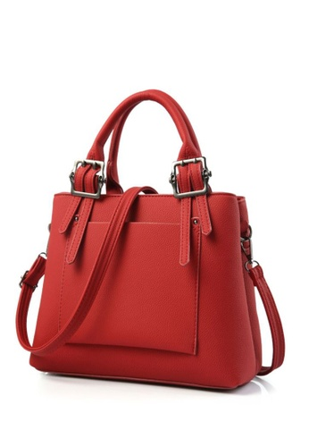 TCWK red TCWK Korea Style Red Ladies Handbag TC258AC0SAO5MY_1
