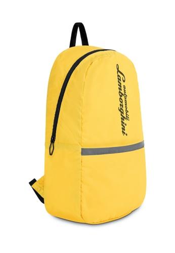 Lamborghini yellow Automobili Lamborghini® Galleria Yellow Backpack 2B6C5ACBB68596GS_1