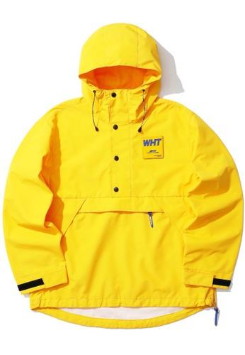 :CHOCOOLATE yellow Logo pullover jacket A6F26AA2F5BDF7GS_1