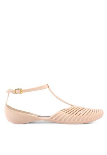 Twenty Eight Shoes Jelly Ankle Strap Ballet Flats 3003-1 70FCCSHB95FA81GS_1