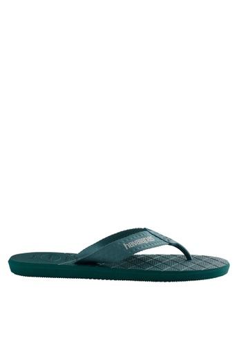 Havaianas green Level 17 Flip Flops HA021SH0JPZEPH_1