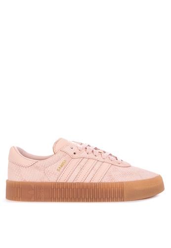 84887bdad05 adidas pink adidas originals sambarose shoes 50009SHB0E86AEGS 1