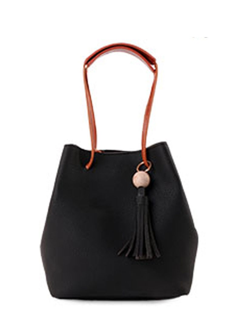 Preppy Allure Tassel Bag