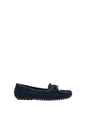 SEMBONIA blue Women Suede Loafer 4D7B8SH9E35B1EGS_1