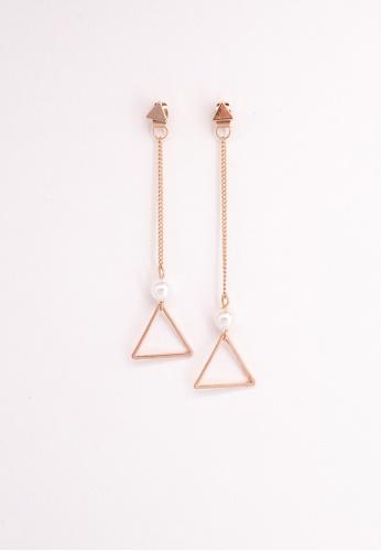 Leline Style gold Drop Pearl Earrings FEB2AAC0FAB8C2GS_1