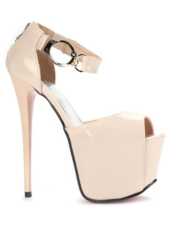 Mandy's beige Mandys Diva Beige Heels MA947SH0VZ25ID_1
