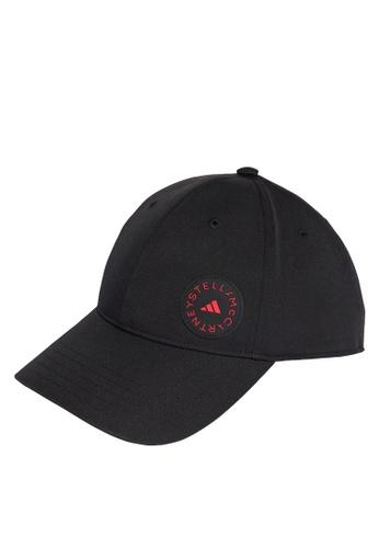 ADIDAS black stella mccartney running cap DAB01AC1576FEDGS_1