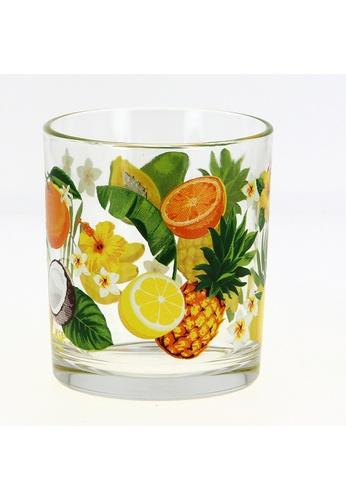 Cerve Cerve 220ML 6 Pcs Glass Tumbler / Tumbler Set / Glass Set  - Exotic Fruits CE3FEHL6B637DCGS_1